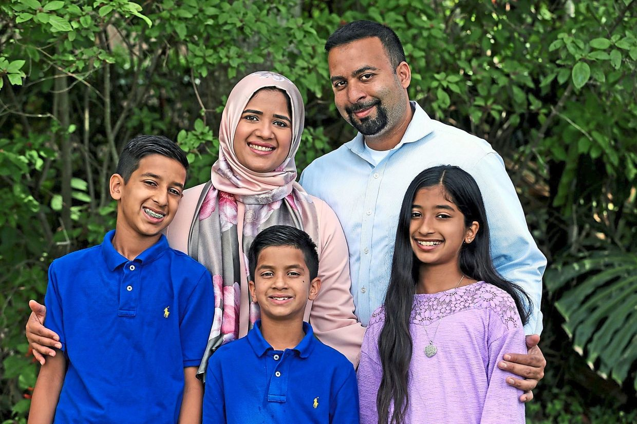 US Muslims observe Ramadan with family and by helping others
