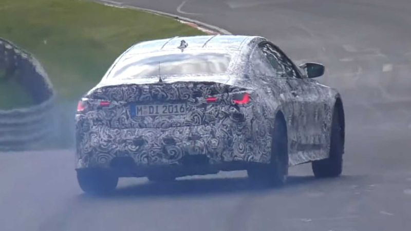 BMW M440i and M4 Coupes spied testing hard at the 'Ring