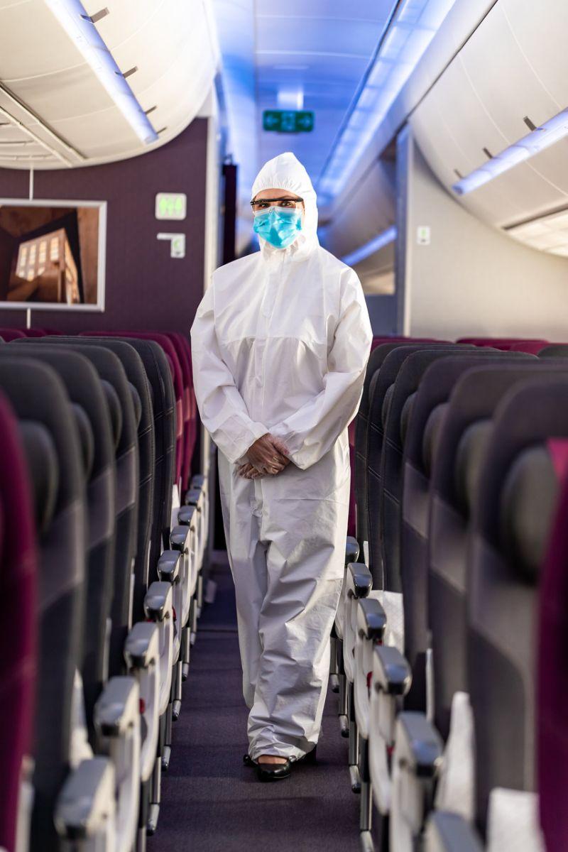 Qatar Airways introduces more safety measures against coronavirus onboard flights
