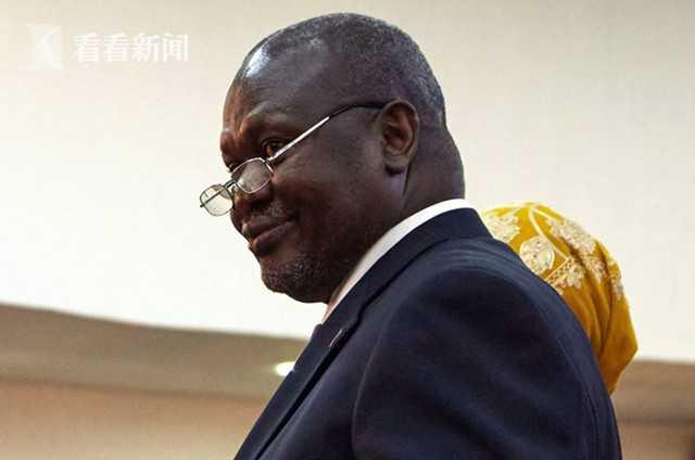 南苏丹副总统夫妇确诊感染新冠 职员保镖亦中招