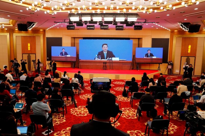 中政协发布会‧网络视频形式进行