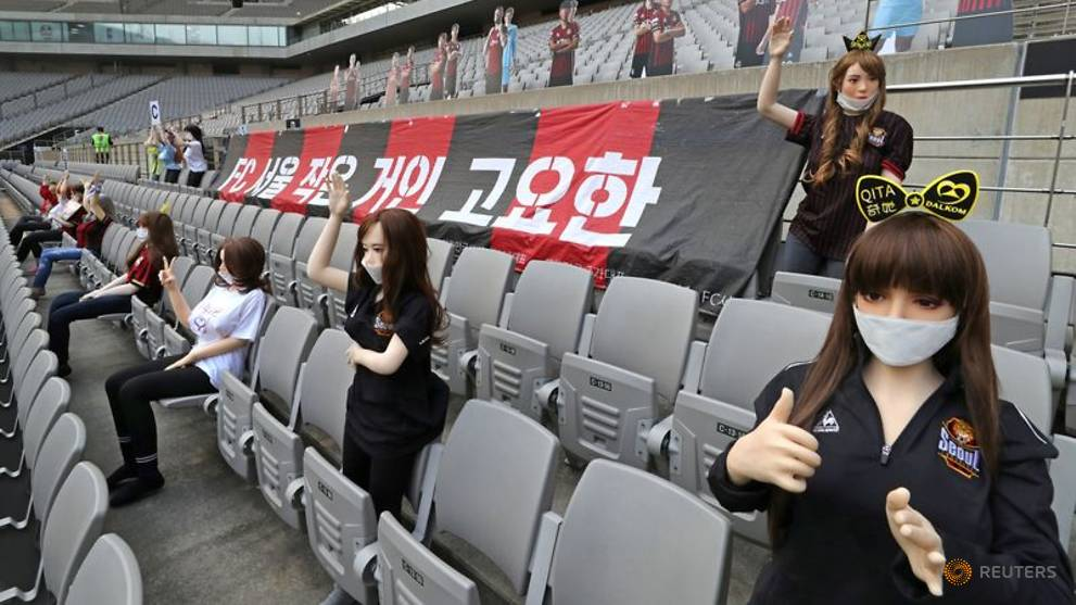 Football: South Korean football league to investigate 'sex doll' row