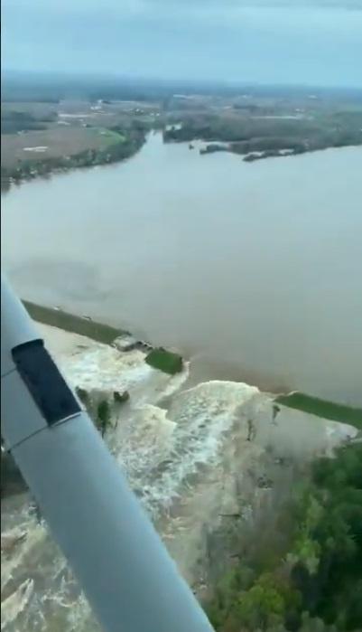 Michigan Flash Floods: Photos and Videos Capture Collapse of Edenville, Sanford Dams