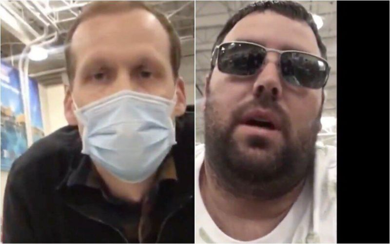 'Hero' costco worker hailed after showdown with irate shopper over mask policy