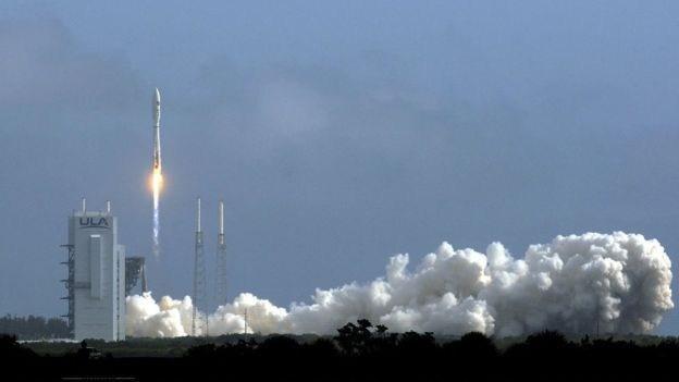 US military re-launches secret X-37B 'space plane' into orbit