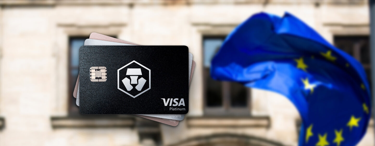 Crypto.Com's mco visa cards are now shipping in europe