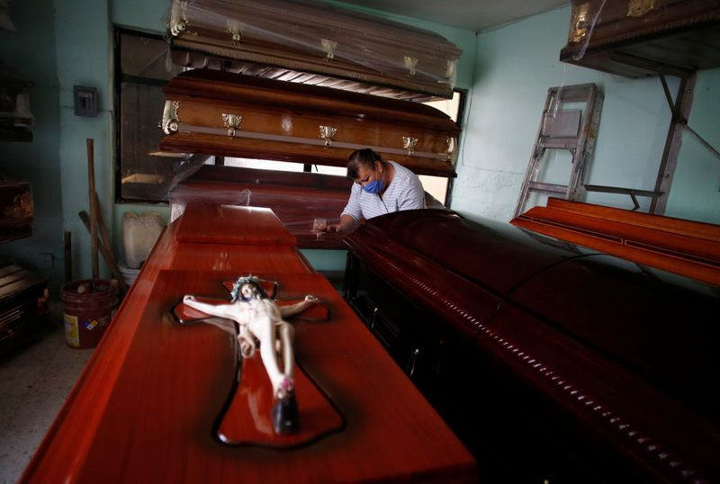 Mexican funeral homes face 'horrific' unseen coronavirus toll