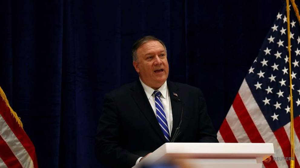 China says Pompeo 'blackmailing' Hong Kong government