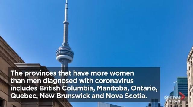 加拿大死于新冠的女性多于男性