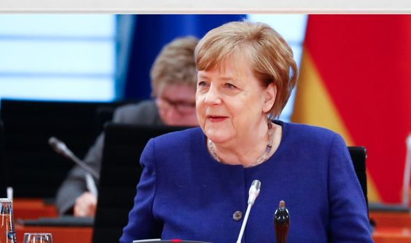 EU on the brink: Angela Merkel warned if 'Germany falls to its knees, so will Brussels'