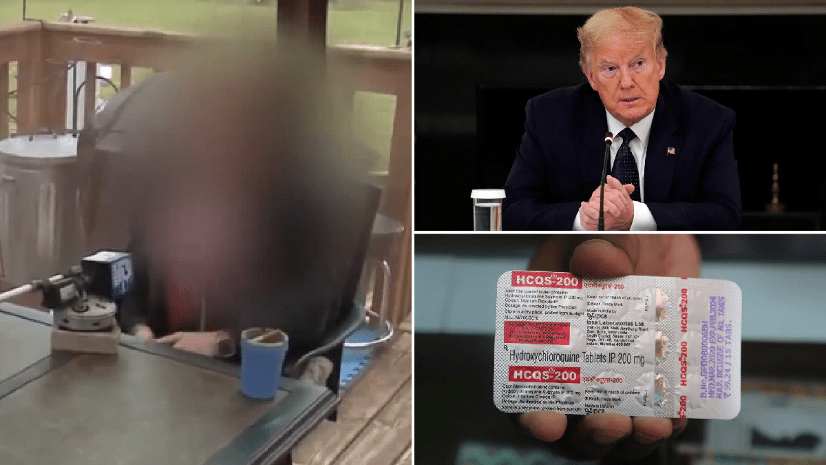 Woman who took 'miracle' coronavirus drug used by Donald Trump still got Covid-19