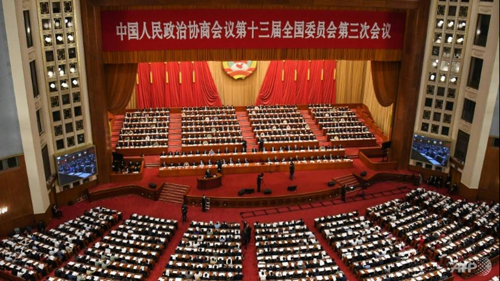 COVID-19: China's top political meetings open with minute's silence for victims