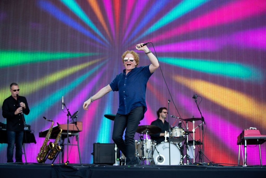 Simply Red raise eyebrows as band's Twitter ranks races from African American to Flamenco gypsies