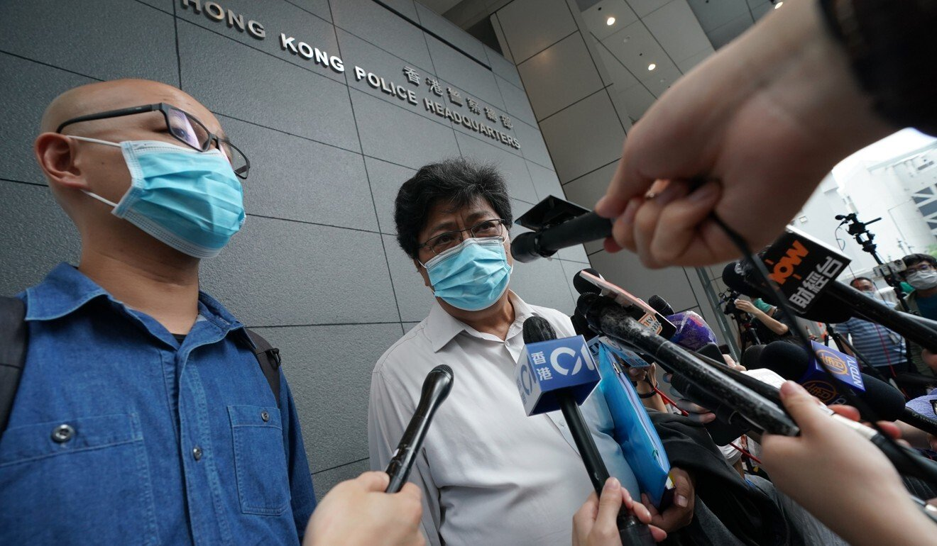 Hong Kong police chief apologises to reporters mistreated by officers at Mong Kok protest
