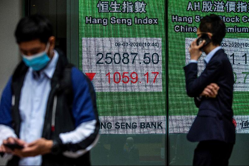 中国要推国安法·香港股市插水