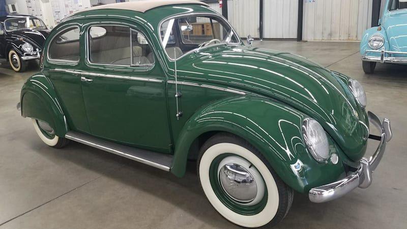 1954 VW Beetle hides a supercharged secret