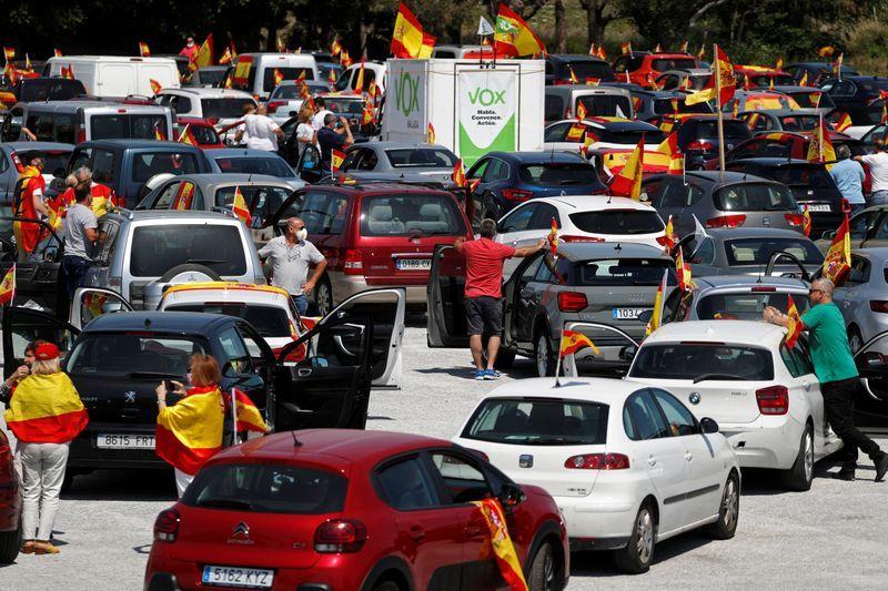 Far-right protests erupt in Spain against coronavirus lockdowns