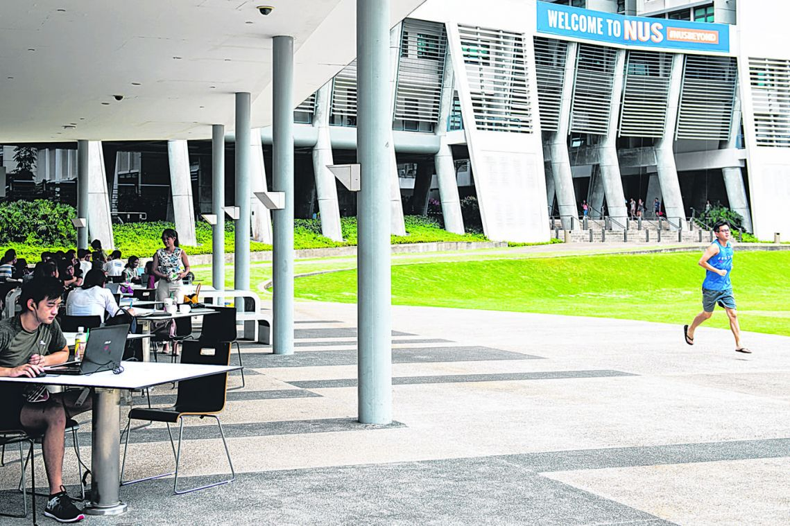 NUS plans to keep students within zones on campus