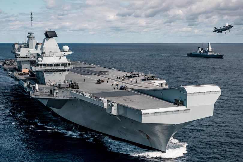 British aircraft carriers including the Queen Elizabeth get new vegan menus