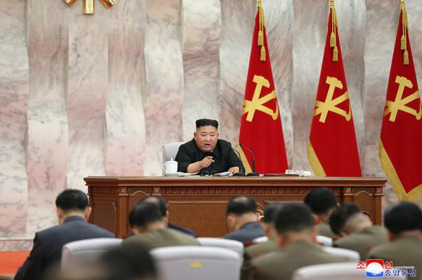 Kim Jong-un back as he appears for first time in three weeks at nuclear meeting