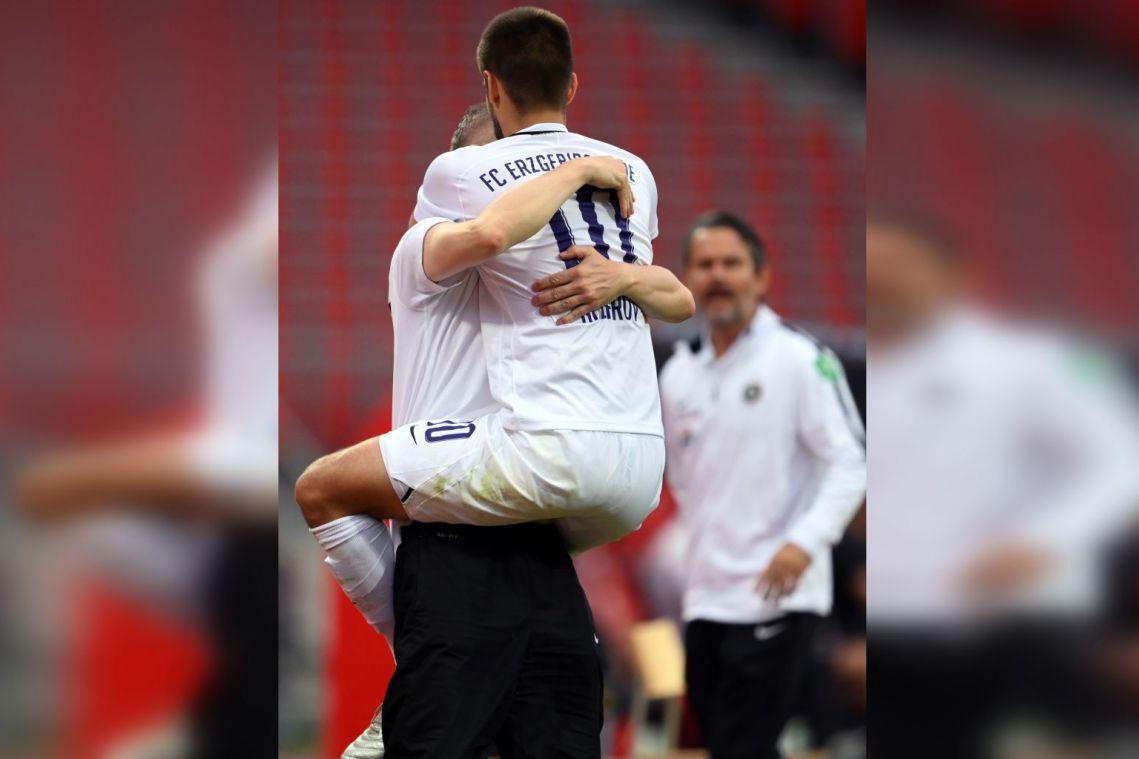 Football: Bundesliga player ignores coronavirus protocols to hug 'life-saver' manager