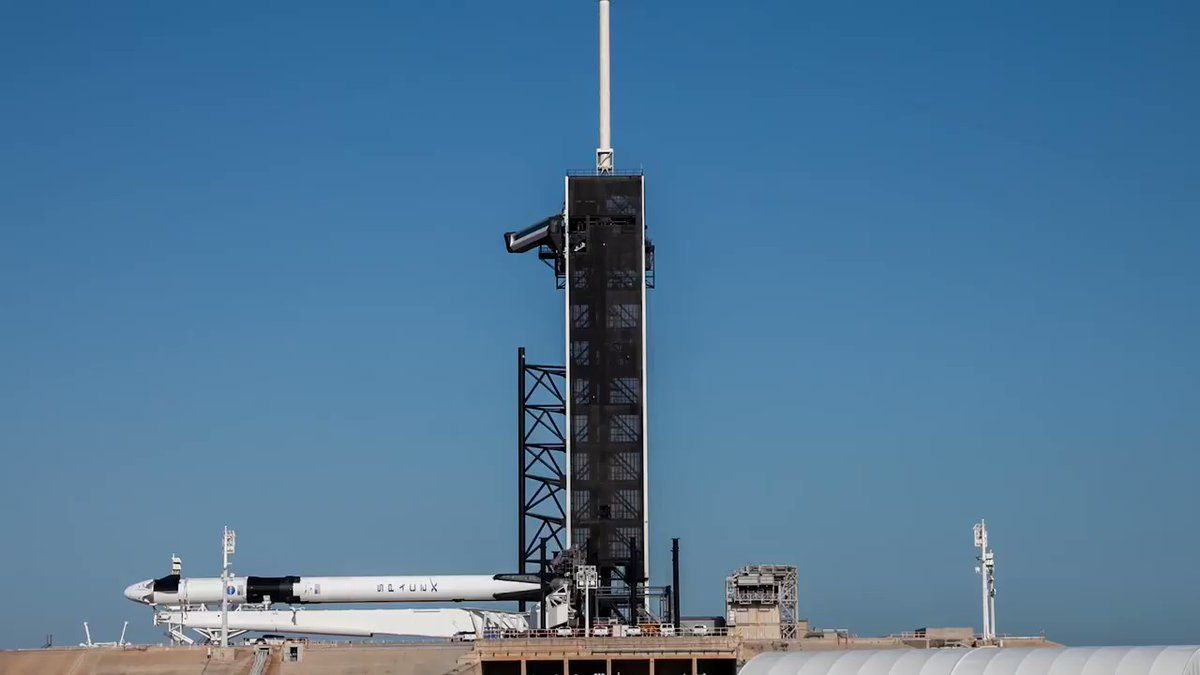 US Prepares for First Crewed Space Launch Since 2011