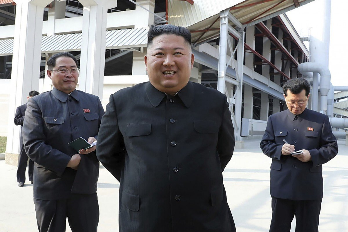 Kim Jong-un's train and car spotted in greater Pyongyang area, report says