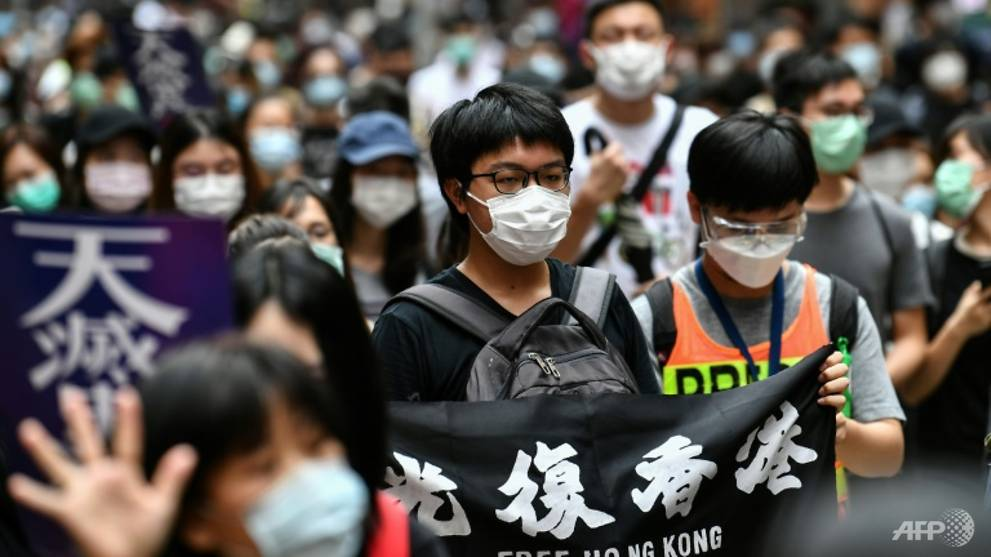 Hong Kong hit by fresh protest after China security proposal