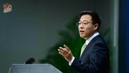蓬佩奥编造中国留学人员谎言为自己错误行为找借口,赵立坚:开历史倒车,损人害己