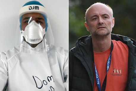 NHS doctor working in a coronavirus ICU vows to resign if Dominic Cummings keeps his job