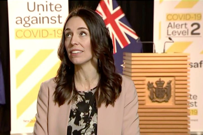 New Zealand PM jacinda ardern keeps her cool as earthquake hits mid-interview