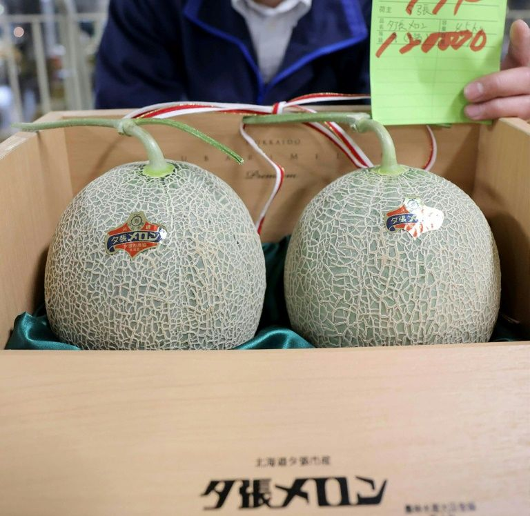 Melon-aires not required as Japan premium fruit prices plunge