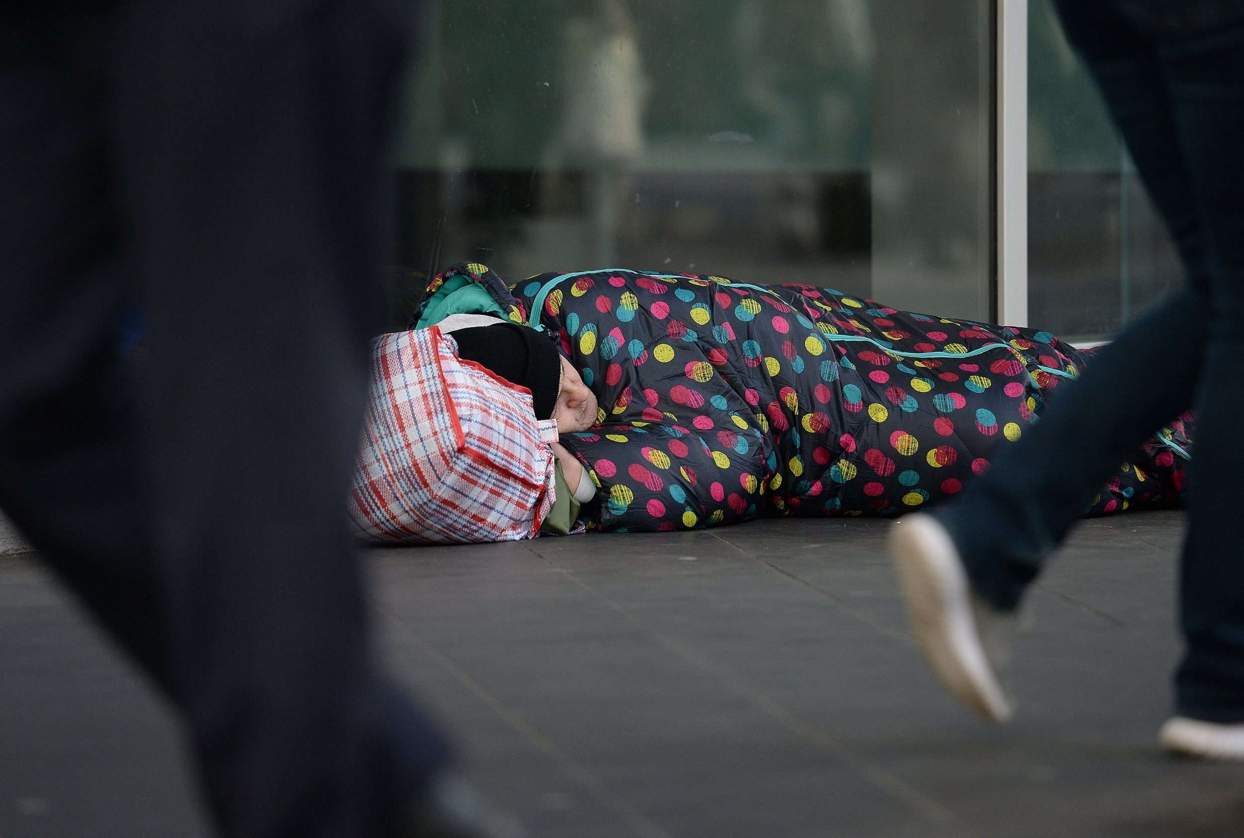 Plan to build 3,300 homes in a year and 'end rough sleeping for good'
