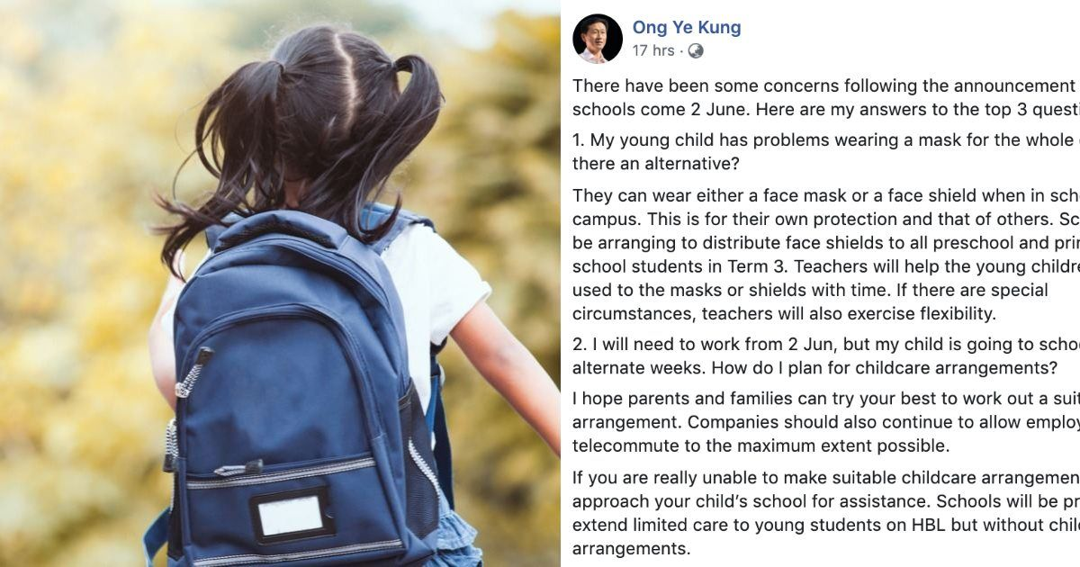 Schools Reopening: Education Minister Addresses Top Concerns By Parents, Educators