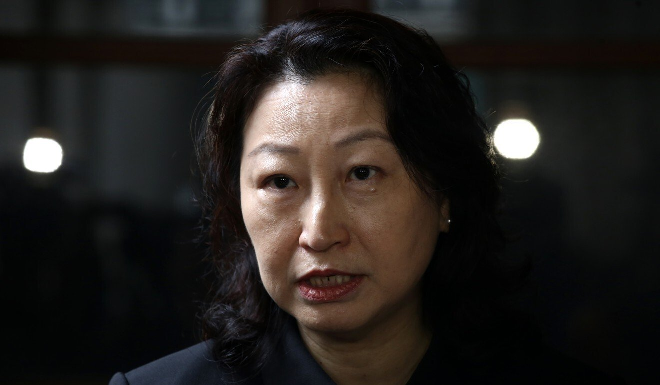 Hong Kong's justice chief Teresa Cheng and Law Society condemn protesters' attack on lawyer