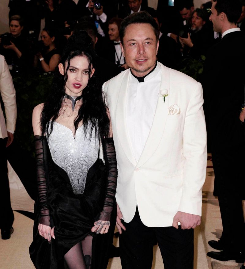 Grimes and elon musk tweak Baby's name to include roman numerals