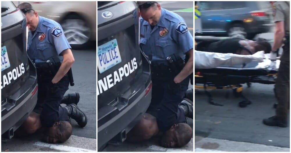 """""""I Can't Breathe, Officer""""- Handcuffed Man Dies After Police Officer Knelt on His Neck"""