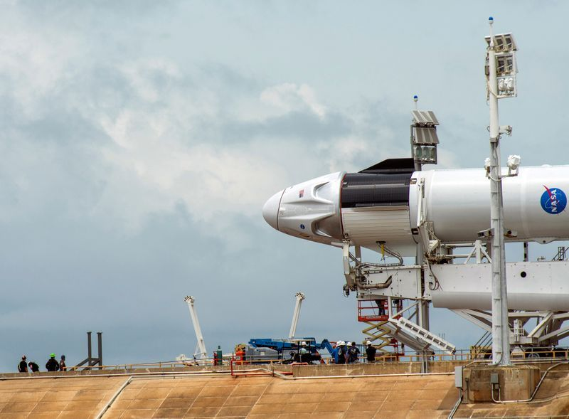 NASA set to resume human spaceflight from U.S. soil with historic SpaceX launch