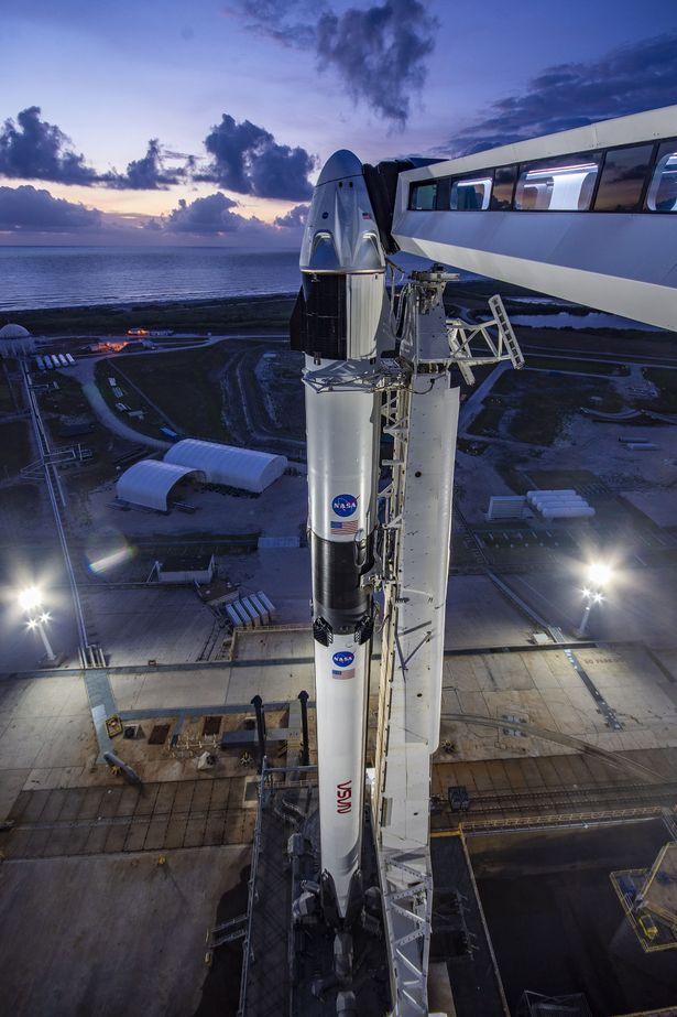 NASA: How you can see a SpaceX rocket carrying astronauts fly across the UK tonight