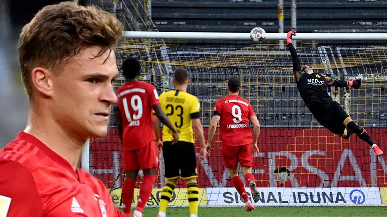 Un golazo de Kimmich en Dortmund da media liga al Bayern