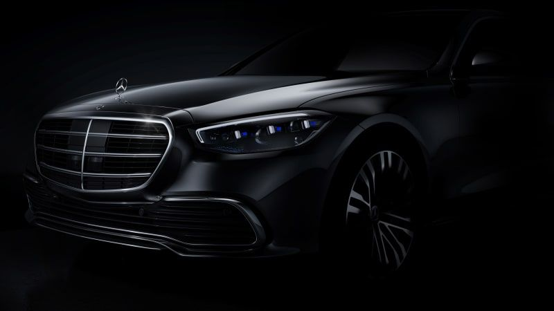 Mercedes-Benz teases seventh-generation 2021 S-Class
