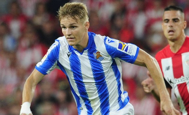Real Madrid willing to include Odegaard in bid for Man Utd star Pogba