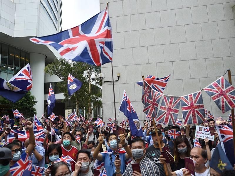 中国绕过香港民意强制立法!英国已准备接受香港难民?!