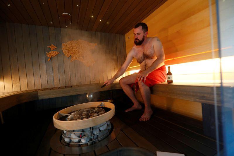 Coronavirus heats up estonian sauna industry