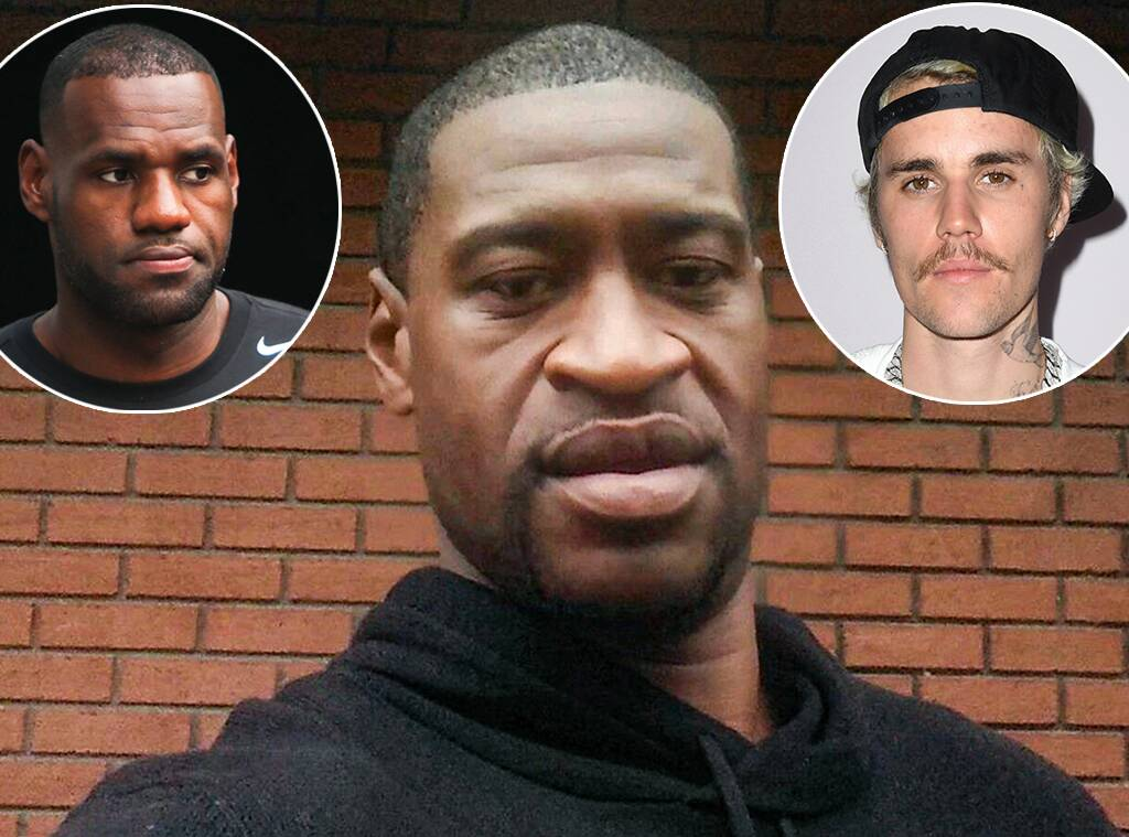 LeBron James, Justin Bieber and More Stars Speak Out About George Floyd's Death