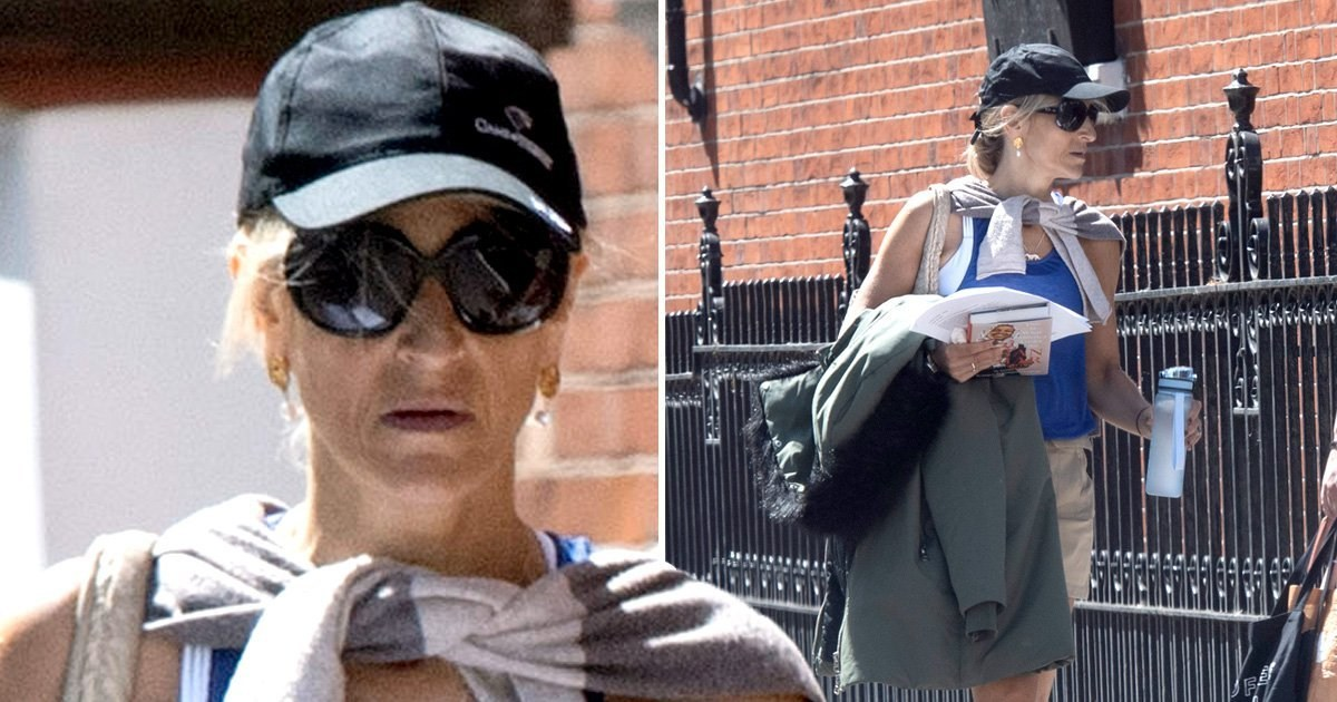 Emily Maitlis steps out for afternoon stroll as Ofcom receives 247 complaints after Dominic Cummings Newsnight speech