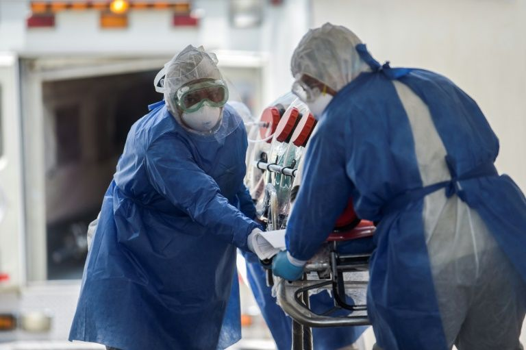 Virus tolls surge in americas as europe re-opens
