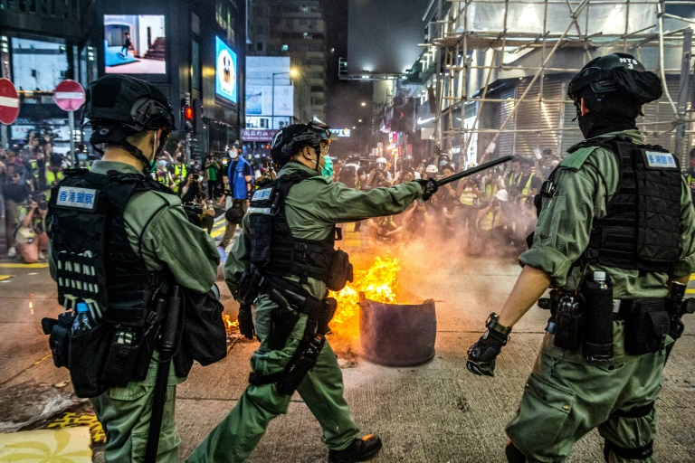 China parliament approves HK security law plan
