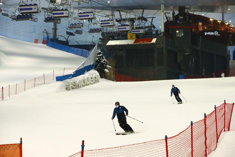 Dubai hits the ski slope as coronavirus restrictions lift