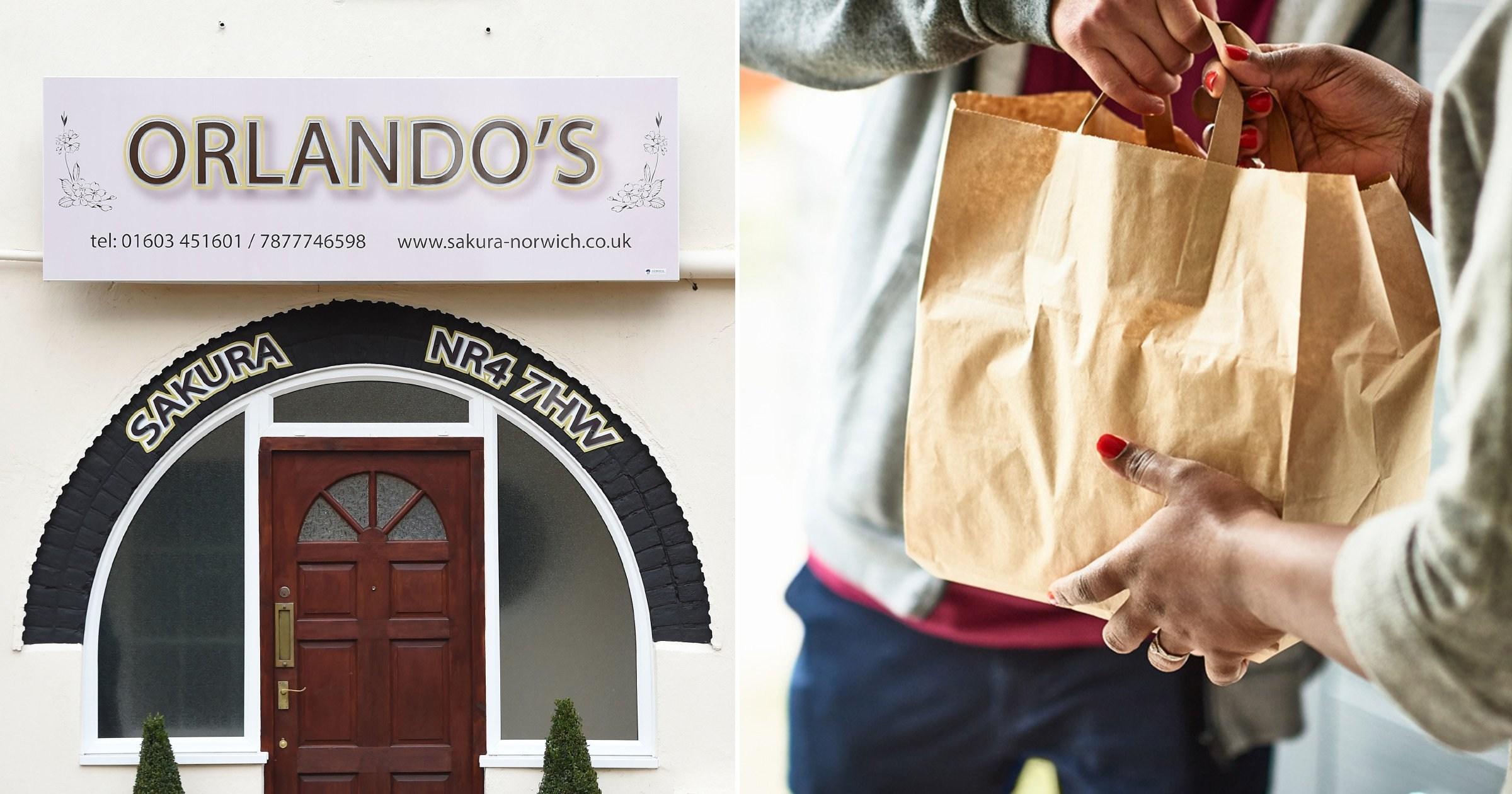 Man denies 'running restaurant' from home despite sign above front door